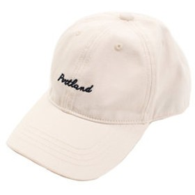 【Super Sports XEBIO & mall店:帽子】ロゴ ツイルキャップ 898EK8ST8868 OWHT