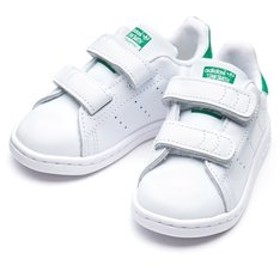 【ABC-MART:シューズ】BZ0520 12-16STAN SMITH CF I WHT/WHT/GRN 571574-0001