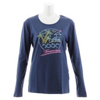 【Super Sports XEBIO & mall店:トップス】NEON BEACH 長袖Tシャツ 870SW8CD3394 NVY