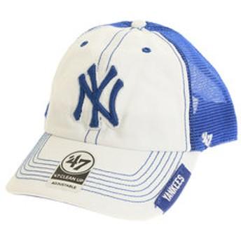 【Super Sports XEBIO & mall店:帽子】【オンライン特価】MLB ニューヨーク ヤンキース キャップ B-HOOCH17GWP-WHB