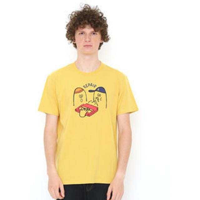 【グラニフ:トップス】ベーシックTシャツ/ブローイングイントゥザゲームカートリッジ