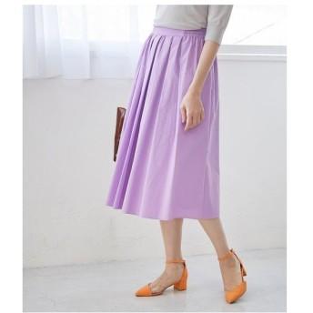 ROPE' / ロペ 【WEB限定】【SS/S/Lサイズあり】タイプライタータックギャザースカート