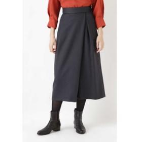 【HUMAN WOMAN:スカート】《arrive paris》ツイード調スカーチョ