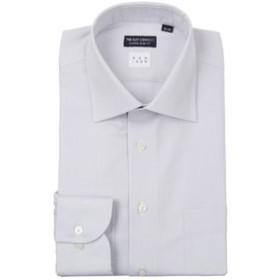 【THE SUIT COMPANY:トップス】【NON IRON】ワイドカラードレスシャツヘリンボーン〔EC・CLASSIC SLIM-FIT〕