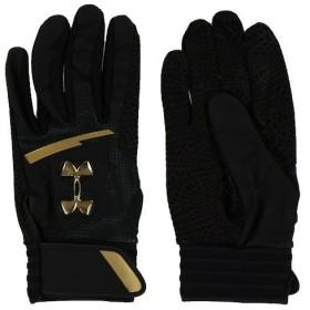 アンダーアーマー UNDER ARMOUR メンズ 野球 バッティング用手袋 UA Undeniable Batting Glove 1331519 (ブラック)
