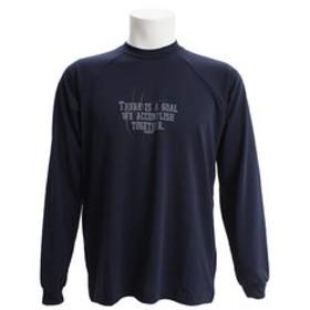 【Super Sports XEBIO & mall店:スポーツ】DPW バスケ長袖Tシャツ 751G7ES6302 NVY