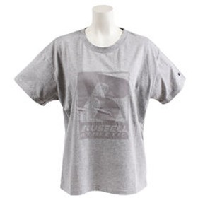 【Super Sports XEBIO & mall店:トップス】【オンライン特価】 NUBLEND ロゴ半袖Tシャツ RBL19S1020 MGRY