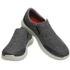 【クロックス公式】 クロックス キンセイル スタティック スリップオン メン Men's Crocs Kinsale Static Slip-On メンズ、紳士、男性用 グレー/グレー 25cm,26cm,27cm,28cm,29cm shoe 靴 シューズ 30%OFF