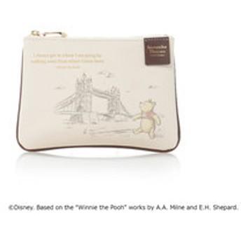 【Samantha Thavasa Petit Choice:財布/小物】ディズニーコレクション「くまのプーさん」シリーズ(ポーチ ロンドンブリッジ)