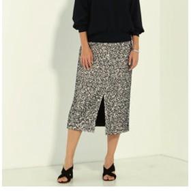 【NOLLEY'S:スカート】ファンシーツイードタイトスカート