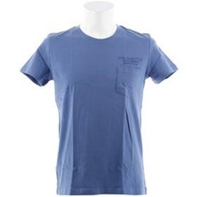 【Super Sports XEBIO & mall店:トップス】ポケットプリント 半袖Tシャツ LOWER 871Q8CD2039BLU