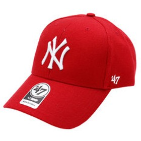 【Super Sports XEBIO & mall店:帽子】ニューヨーク ヤンキース 47 MVP Red キャップ B-MVP17WBV-RD0