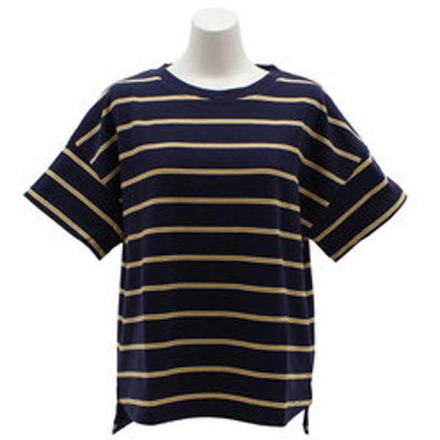 【Super Sports XEBIO & mall店:トップス】ドロップショルダーTシャツ 8512539-60NAV