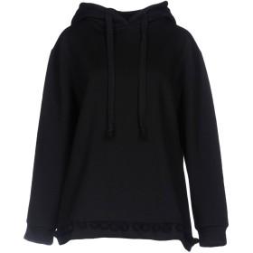 《期間限定 セール開催中》WEILI ZHENG レディース スウェットシャツ ブラック XS コットン 50% / ポリエステル 50%