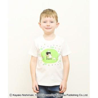 【グラニフ:トップス】コラボレーションキッズTシャツ/わたしのワンピース(わたしのワンピース)(ホワイト)