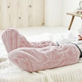 末端冷えさんのためにつくった ふわふわ眠れる足の寝袋の会 フェリシモ FELISSIMO【送料無料】