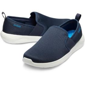 【クロックス公式】 ライトライド メッシュ スリップオン メン Men's LiteRide Mesh Slip-On メンズ、紳士、男性用 ブルー/青 25cm,26cm,27cm,28cm,29cm shoe 靴 シューズ