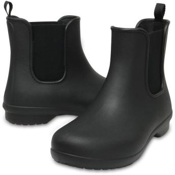【クロックス公式】 クロックス フリーセイル チェルシー ブーツ ウィメン Women's Crocs Freesail Chelsea Boot ウィメンズ、レディース、女性用 ブラック/黒 21cm,22cm,23cm,24cm,25cm boot ブーツ