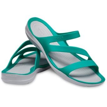 【クロックス公式】 スウィフトウォーター サンダル ウィメン Women's Swiftwater Sandal ウィメンズ、レディース、女性用 グリーン/緑 22cm,25cm sandal サンダル 20%OFF