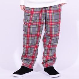 パンツ・ズボン全般 - 8(eight) ワイドパンツ メンズ チェックパンツ全3色 新作 チノパン太め ゆるめ チノパン グリーンパンツ グレー ブラウン8(eight)エイト 8