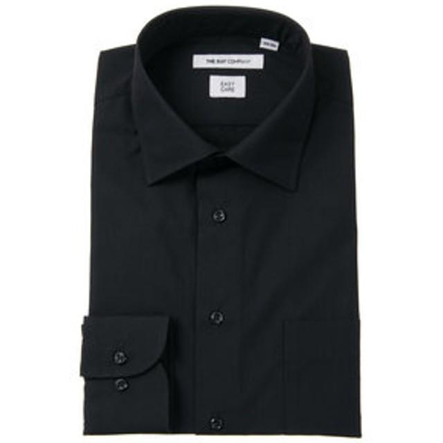【THE SUIT COMPANY:トップス】ワイドカラードレスシャツ 無地 〔EC・FIT〕