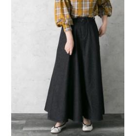 【URBAN RESEARCH:スカート】Wrangler×ROSSO ブロークンデニムマキシスカート