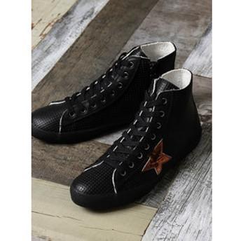 【around the shoes:シューズ】ハイカットスタースニーカー