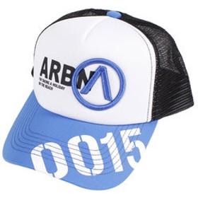 【Super Sports XEBIO & mall店:帽子】【ゼビオオンラインストア価格】ジュニア ビッグロゴ メッシュキャップ AB83AC1064J BL/WT