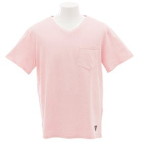 【Super Sports XEBIO & mall店:トップス】【多少の汚れ等訳あり大奉仕】ピグメントVネック Tシャツ KC1716604M-4-PNK