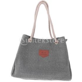 ファッションRertro女性キャンバスカジュアルハンドバッグショルダーバッグトートバッグ