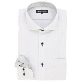 【semantic design:トップス】形態安定カッタウェイビジネスドレスシャツ