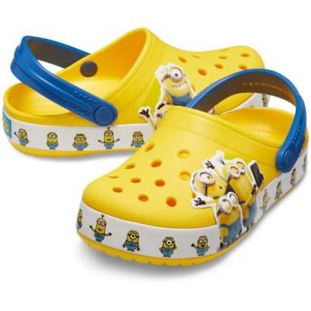 【クロックス公式】 クロックス ファン ラブ ミニオンズ マルチ クロッグ キッズ Kids' Crocs Fun Lab Minions Multi Clog ユニセックス、キッズ、子供用、男の子、女の子、男女兼用 イエロー/黄色 15.5cm,16.5cm,17.5cm,18cm,18.5cm,19cm,19.5cm,20cm,21cm clog クロッグ サンダル