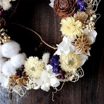 Christmas Wreath (white)