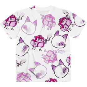 【3970円~】『パンケーキさんとねこ◎』フルグラフィックTシャツ