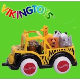 b644375e40b012 VIKINGTOYS バイキングトイズ ジャンボ サファリトラック 156077(キッズ・男の子に人気の乗り物の