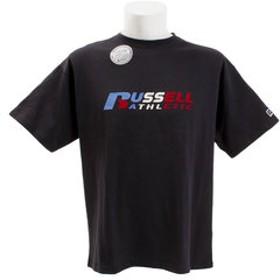 【Super Sports XEBIO & mall店:トップス】NUBLEND 半袖プリントTシャツ RBM19S0015 NVY
