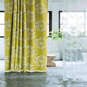 北欧調花柄遮光カーテン(100×135・1枚入り)