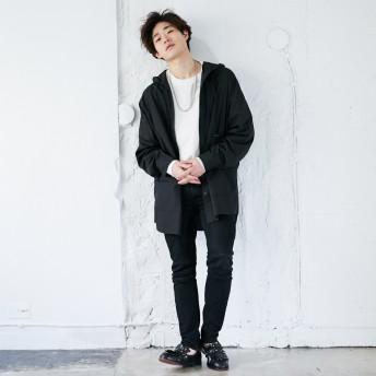 ジャケット・ブルゾン - kutir 【kutir】フードシャツブルゾン