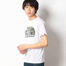 [マルイ] 【THE NORTH FACE】Tシャツ(メンズショートスリーブカモフラージュロゴティー)/ザ・ノース・フェイス(THE NORTH FACE)