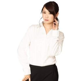 クリアストーン 機能性ビジネスシャツ スキッパー L 白