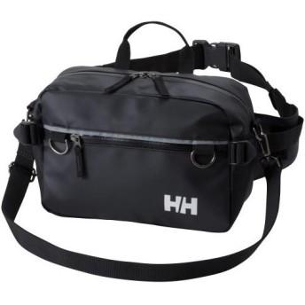 ヘリーハンセン(HELLY HANSEN) アーケルヒップバッグ Aker Hip Bag ブラック HY91723 K ウエストバック ボディバッグ ウエストポーチ