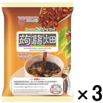 アウトレットマンナンライフ 蒟蒻畑 コーヒー味 1セット(12個入×3袋)