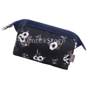 旅行クラッチバッグ化粧メイクアップポーチトイレタリーオーガナイザーバッグ