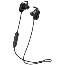ブルートゥースイヤホン カナル型 JVC ブラック HA-ET870BV-B [リモコン・マイク対応 /ワイヤレス(左右コード) /防水 /Bluetooth]