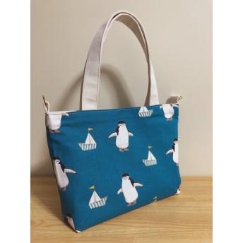 ヒゲペンギンの2wayトートバッグ