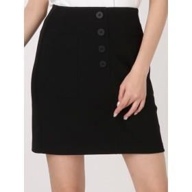 ミニスカート - EMODA ハイウエストリブスカート