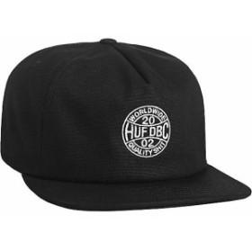 HUF Token Snapback Hat Cap Black キャップ 送料無料