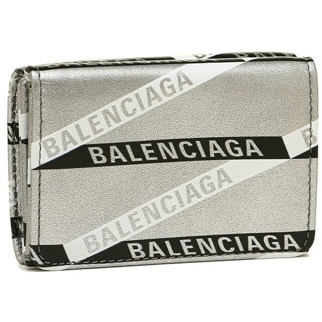015cf9730854 【送料無料】バレンシアガ 財布 BALENCIAGA 551921 00T0N 1480 EVERYDAY L MINI WALL VITELLO  METALLIZATO