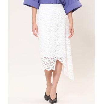 INED / 《Luftrobe》スカラップアシメスカート