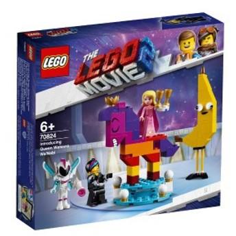 5702016367966:レゴ ムービー ルーシーとわがまま女王 70824【新品】 LEGO MOVIE 知育玩具